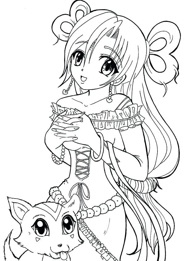 600x848 Anime Coloring Sheets Medecine Du