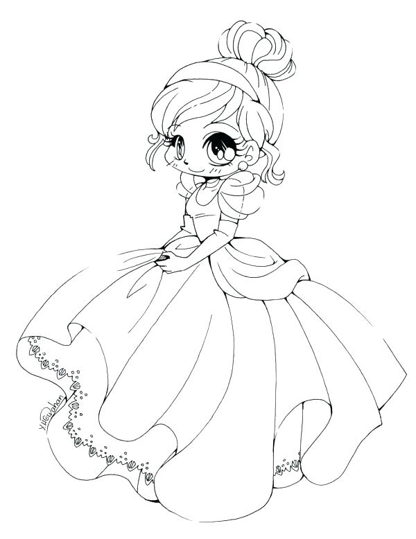 600x778 Anime Coloring Pages Chibi Plain Decoration Coloring Pages