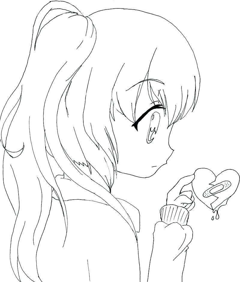 800x941 Girl Vampire Coloring Pages Anime Printable Coloring Pages Good