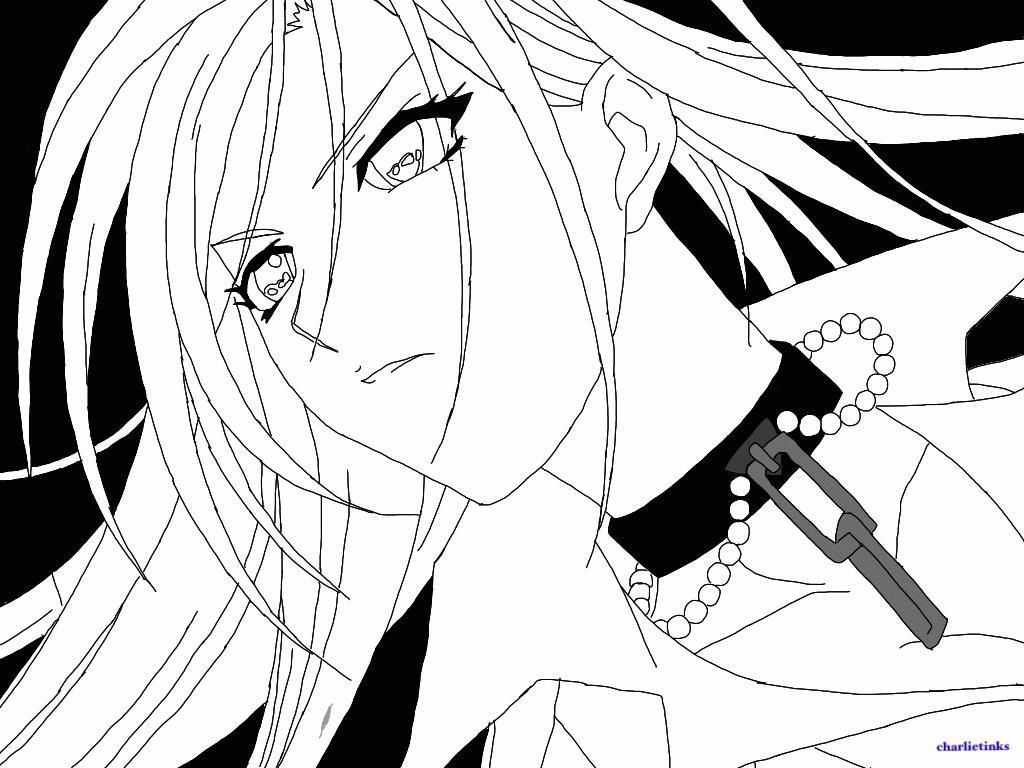 1024x768 Anime Vampire Coloring Pages Coloring Sheets