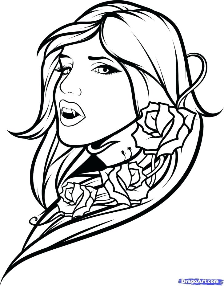 728x928 Vampire Coloring Pages Mummy Vampire And Mummy Are Best Friend
