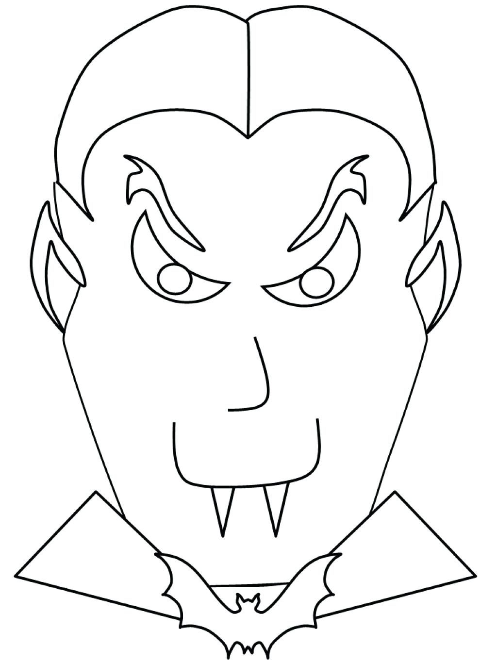 1024x1366 Coloring Pages Vampire Coloring Pages Free Printable For Kids