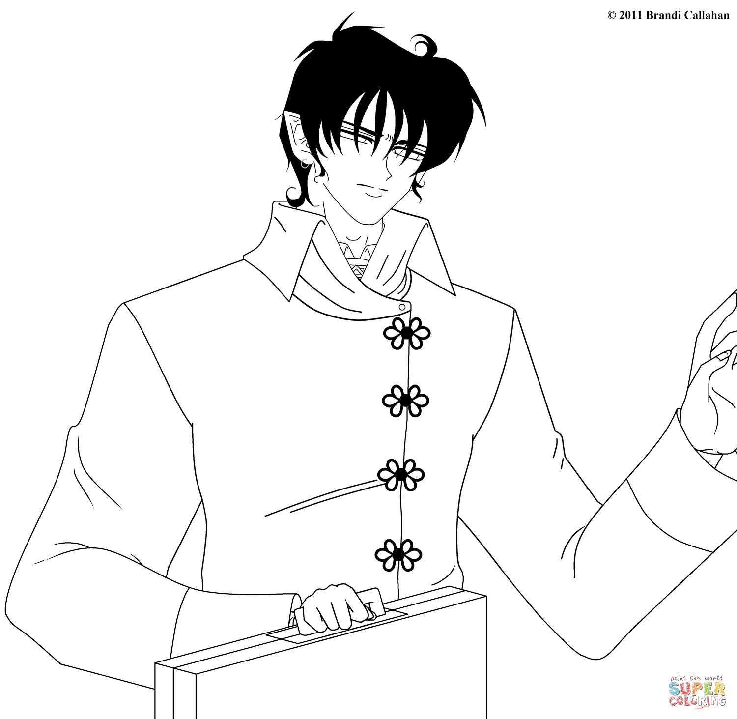 1500x1463 Anime Manga Coloring Pages Free Coloring Pages