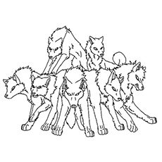 230x230 Top Free Printable Wolf Coloring Pages Online