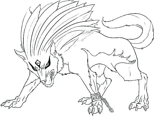 500x378 Wolf Coloring Pages To Print Wolf Coloring Page Wolf Coloring