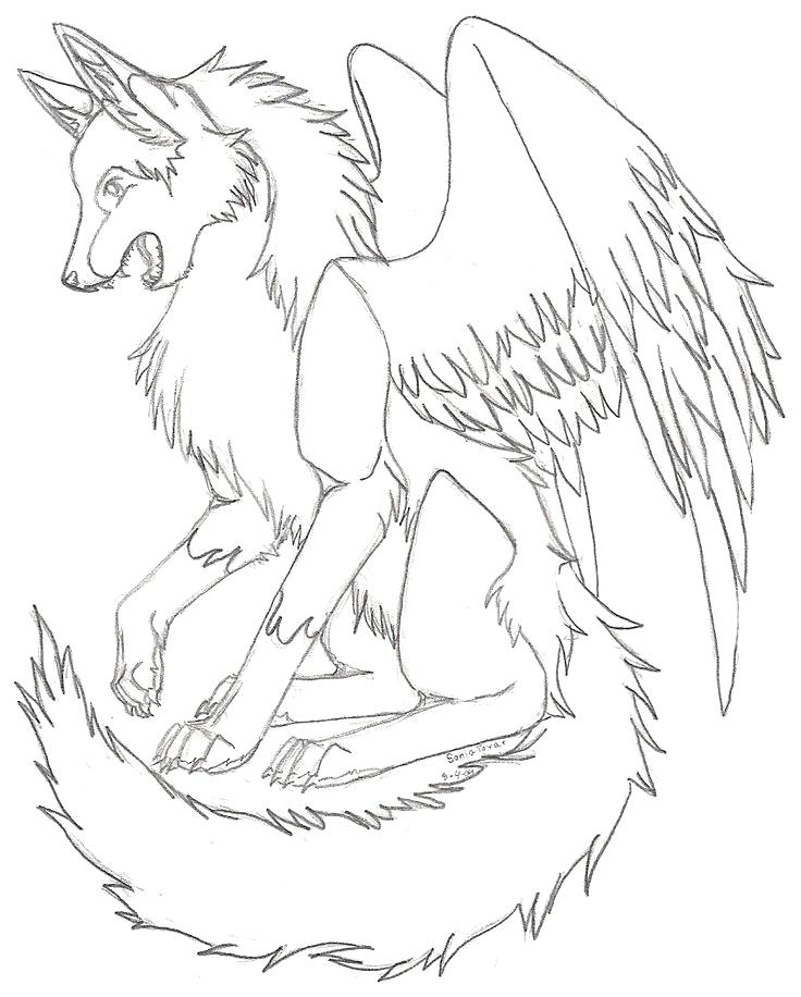736x916 Wolf Pack Coloring Pages Anime Wolf Pack Coloring Pages Coloring