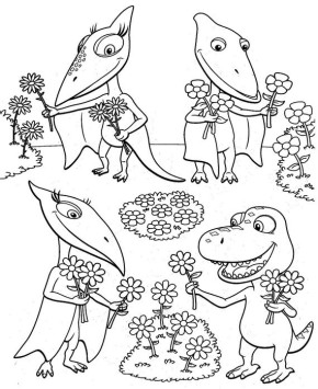 290x355 Dinosaurs T Rex Dinosaur Coloring Page, Trex Coloring Page, T