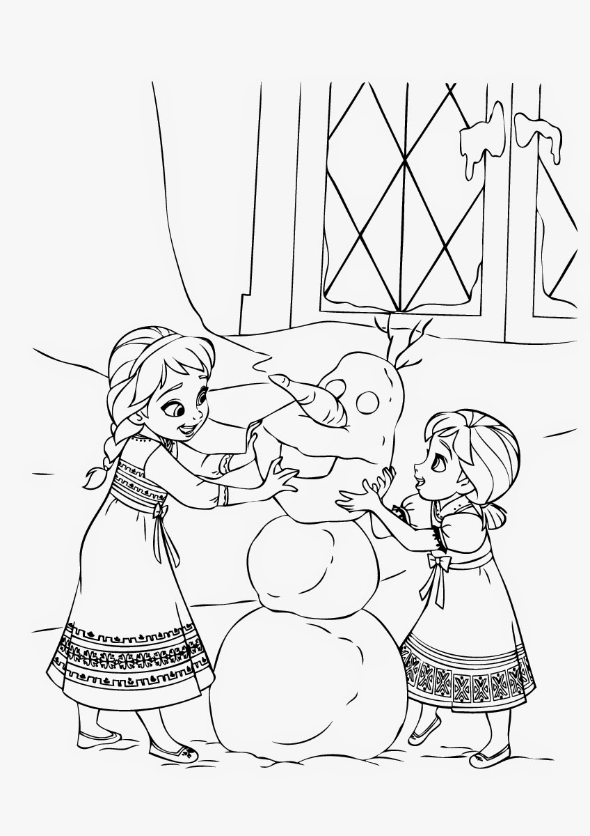 848x1200 Anna And Elsa Coloring Pages Inspirational Frozen Anna Kristoff