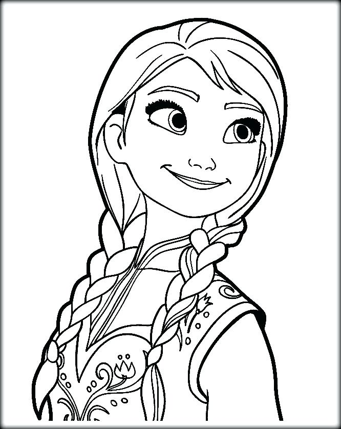 666x838 Anna Coloring Pages Printable Kids Coloring Princess Coloring