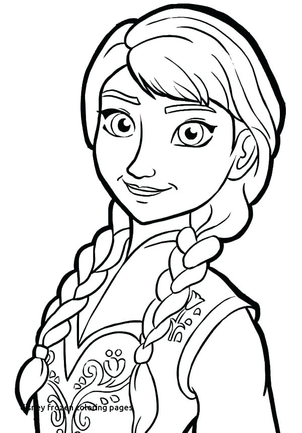 600x861 Anna Frozen Coloring Pages And Frozen Coloring Pages Cute Frozen