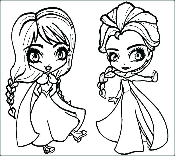615x547 Anna Frozen Coloring Pages Listen Coloring Page For Frozen