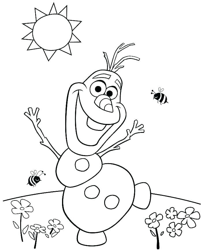 700x869 Elsa Anna Coloring Page Frozen Accidentally Struck While Playing