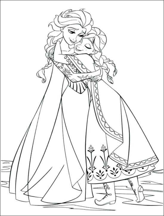 550x727 Frozen Coloring Pages Printable Free Frozen Coloring Pages