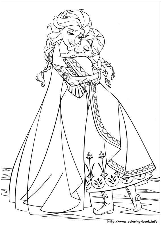 567x794 Frozen Coloring Picture Elsa Anna Coloring Pages