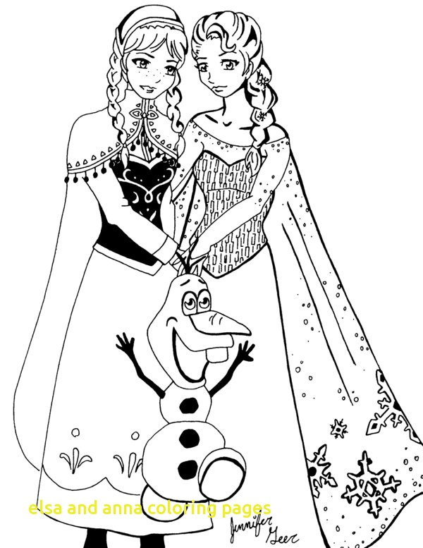 600x777 Elsa And Anna Coloring Pages With Frozen Coloring Pages Printable