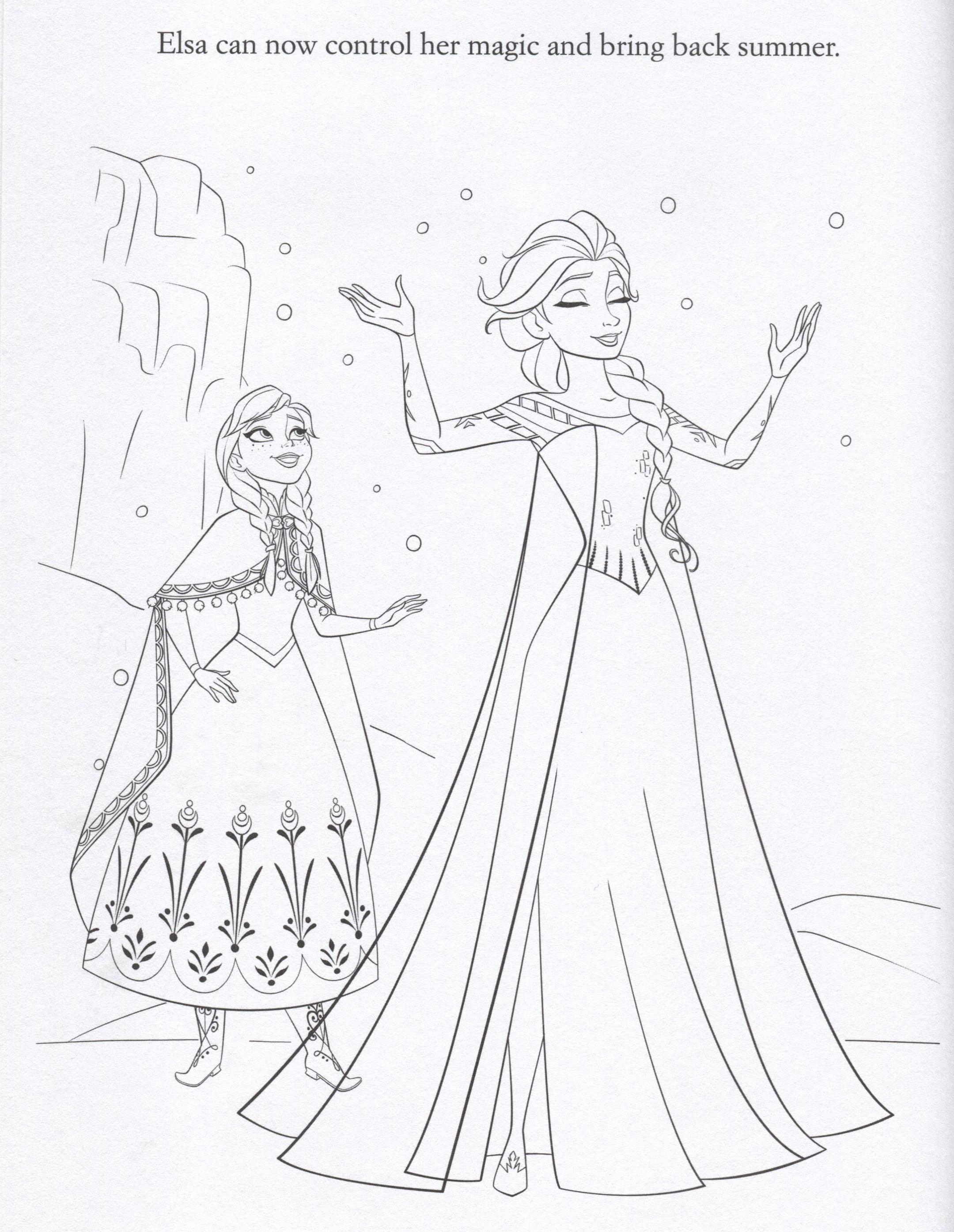 2160x2789 Disney Frozen Elsa Coloring Pages, Printerkids Disney Pixar