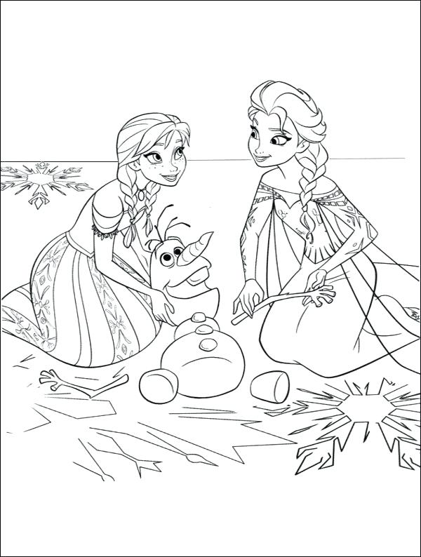 600x794 Free Frozen Coloring Pages High Definition Coloring Free