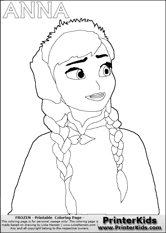 580x812 Free Frozen Coloring Pages Printable Print Coloring Pages