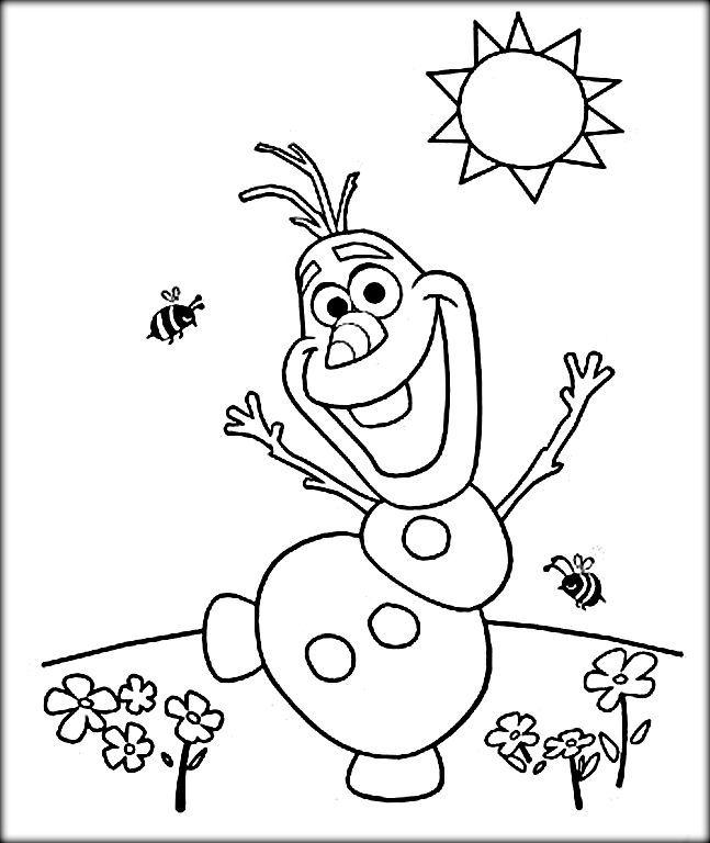 647x768 Princess Elsa Coloring Pages