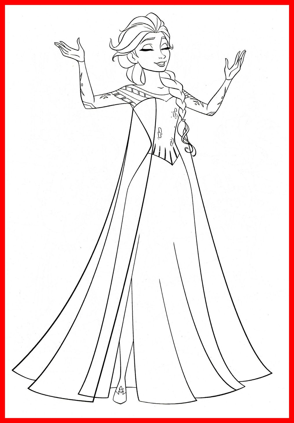 1015x1461 The Best Anna Frozen Coloring Pages Disney Princess Elsa