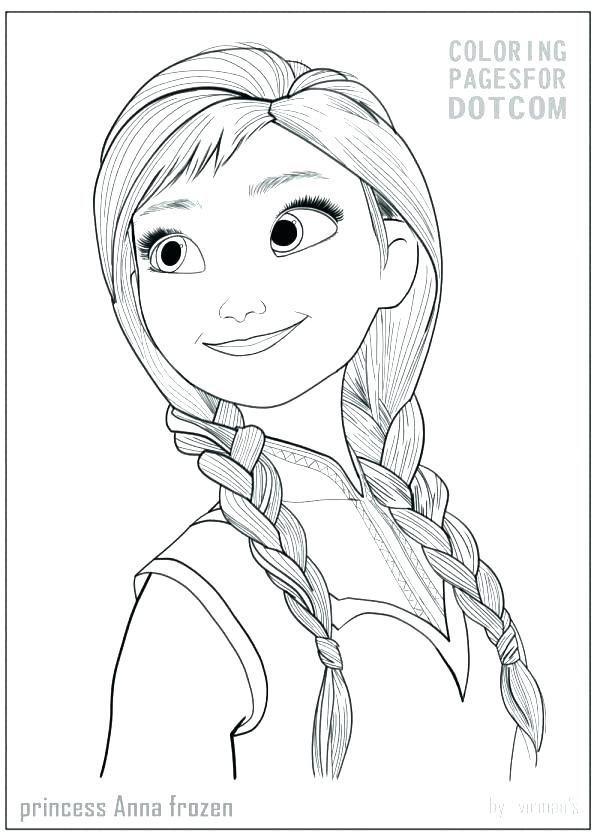600x840 Coloring Anna Frozen Coloring Page Pages To Free Anna Frozen