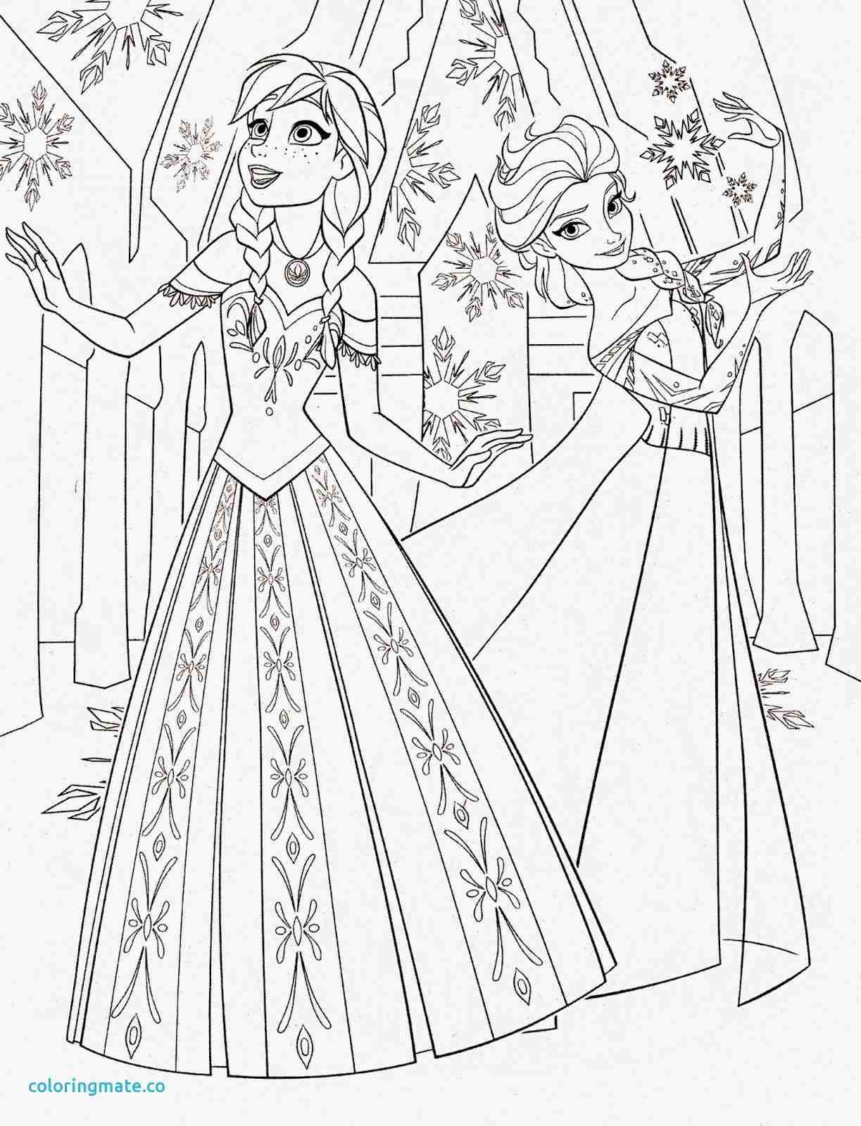 1223x1600 Anna Frozen Coloring Pages Best Of Disney Princess Elsa