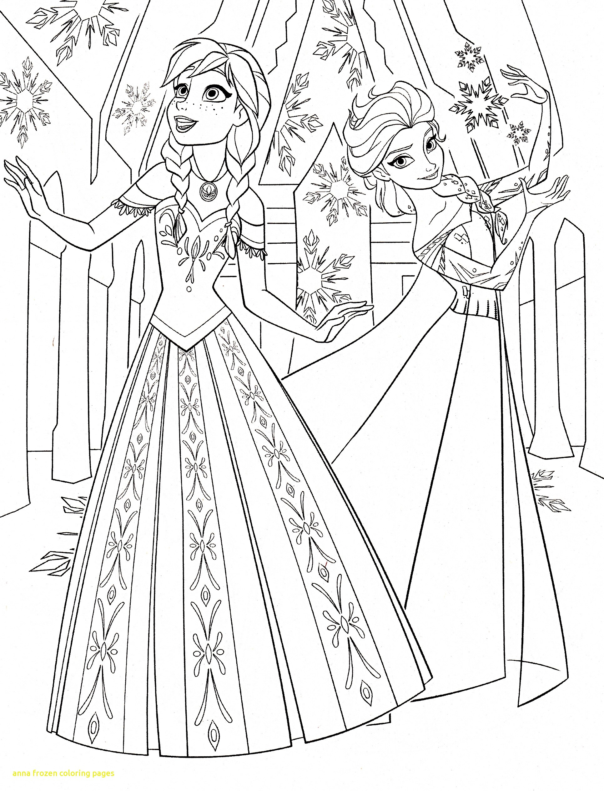 1932x2529 Anna Frozen Coloring Pages With Printable Arresting Page Acpra