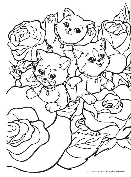500x673 Lisa Frank Christmas Coloring Pages Lisa Frank Printable Coloring