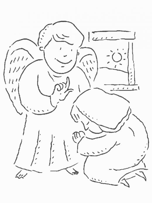 520x693 Mary And The Wonderful Story Of The Annunciation For Kids, Mary