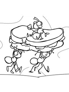 236x314 Ant Coloring Page Download Free Ant Coloring Page For Kids