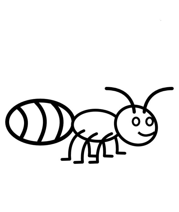 685x810 Ant Coloring Pages Fancy Ant Coloring Page With Additional