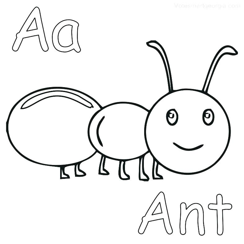 787x787 Ant Coloring Page Ant Coloring Page Ant Coloring Pages Fearsome