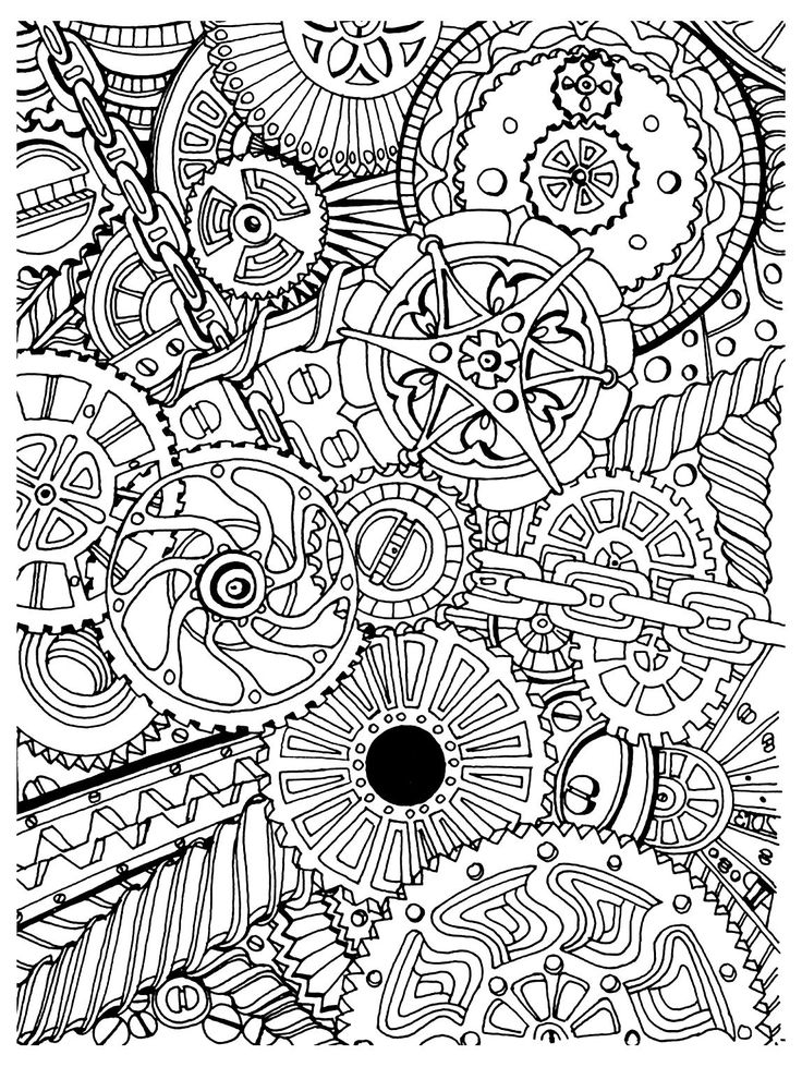 Anti Stress Coloring Pages Printable
