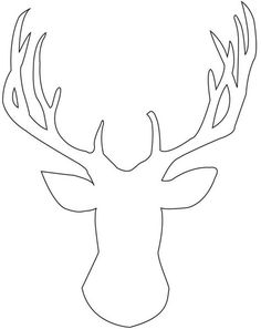 236x297 Holiday Hoop Art + Free Antler Printable City Farmhouse, Antlers