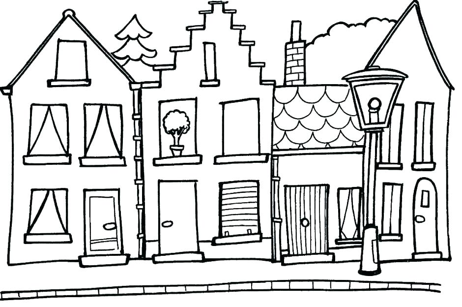 940x624 Building Coloring Page Building Coloring Page Here Are Coloring