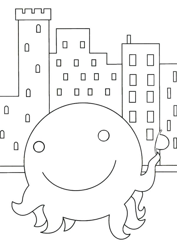600x817 Oswald Coloring Pages Coloring Pages Coloring Pages City Buildings