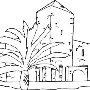300x300 Store And Apartment Building Coloring Pages Best Place To Color