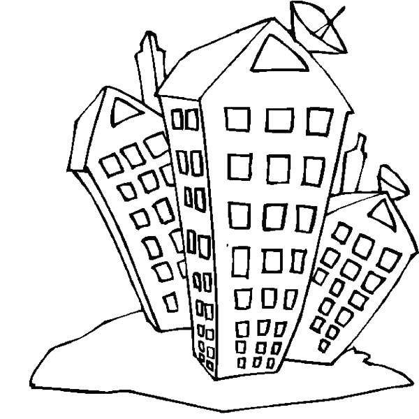 600x600 Apartment, College Student Apartment Coloring Pages College