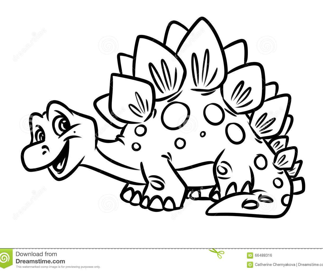 1224x1031 Coloring Pages Dinosaurs Stegosaurus And Other Dino Page General