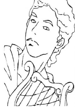 Apollo Coloring Page