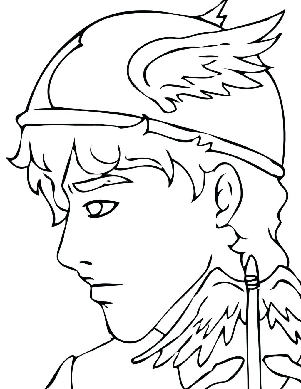 1024x1325 Coloring Page Greek Gods Coloring Pages Apollo God Greek Gods