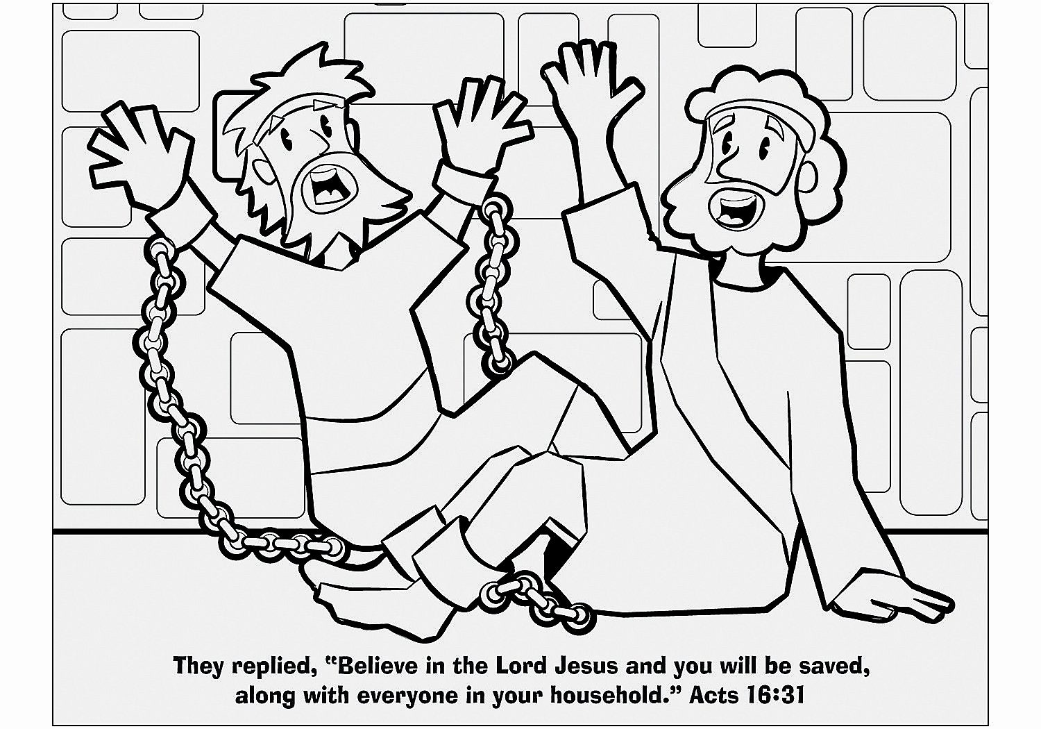 1500x1050 Paul And Ananias Coloring Page Collection Apostle Paul Coloring