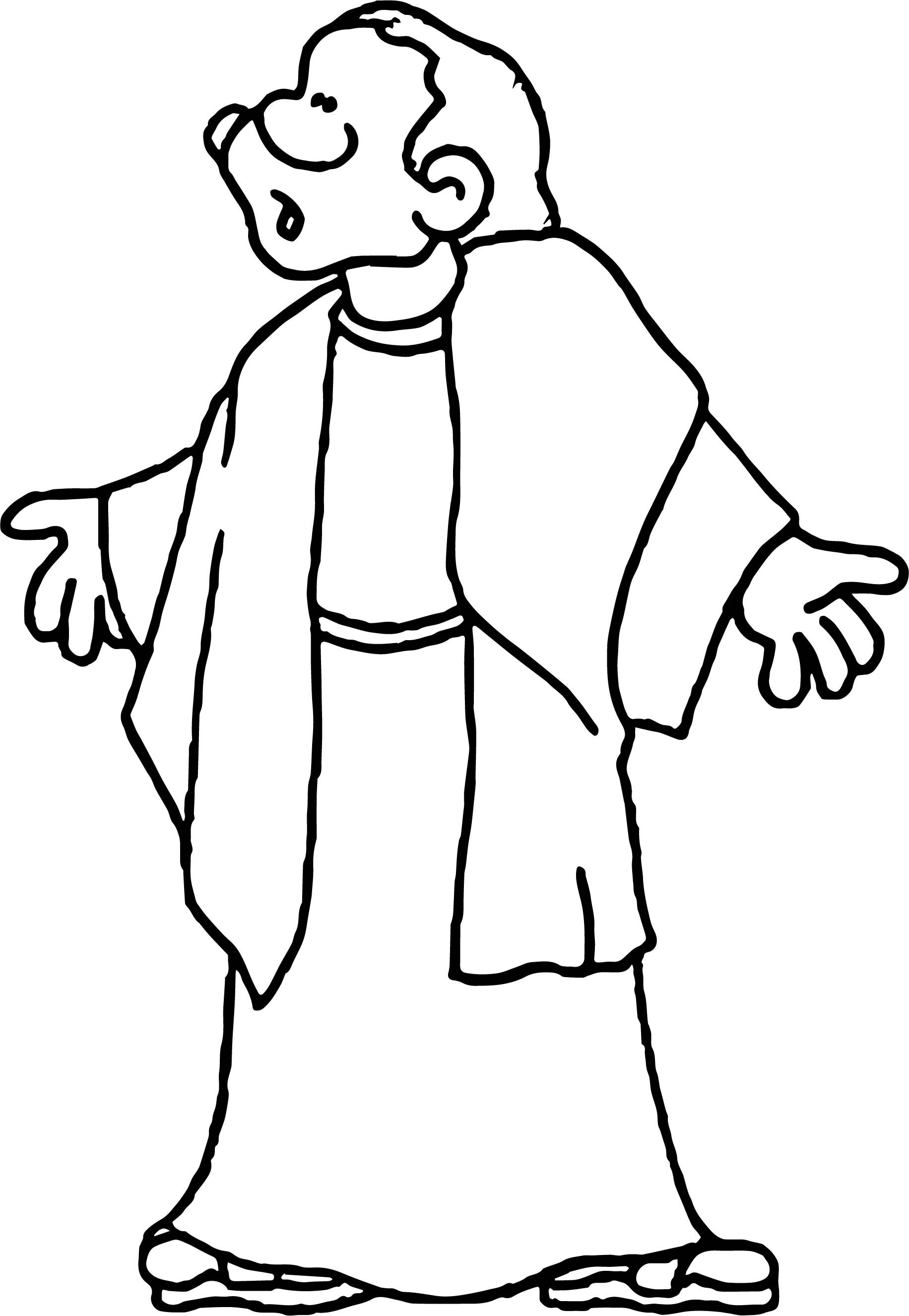 1832x2652 Shock Apostle Paul Coloring Page Wecoloringpage