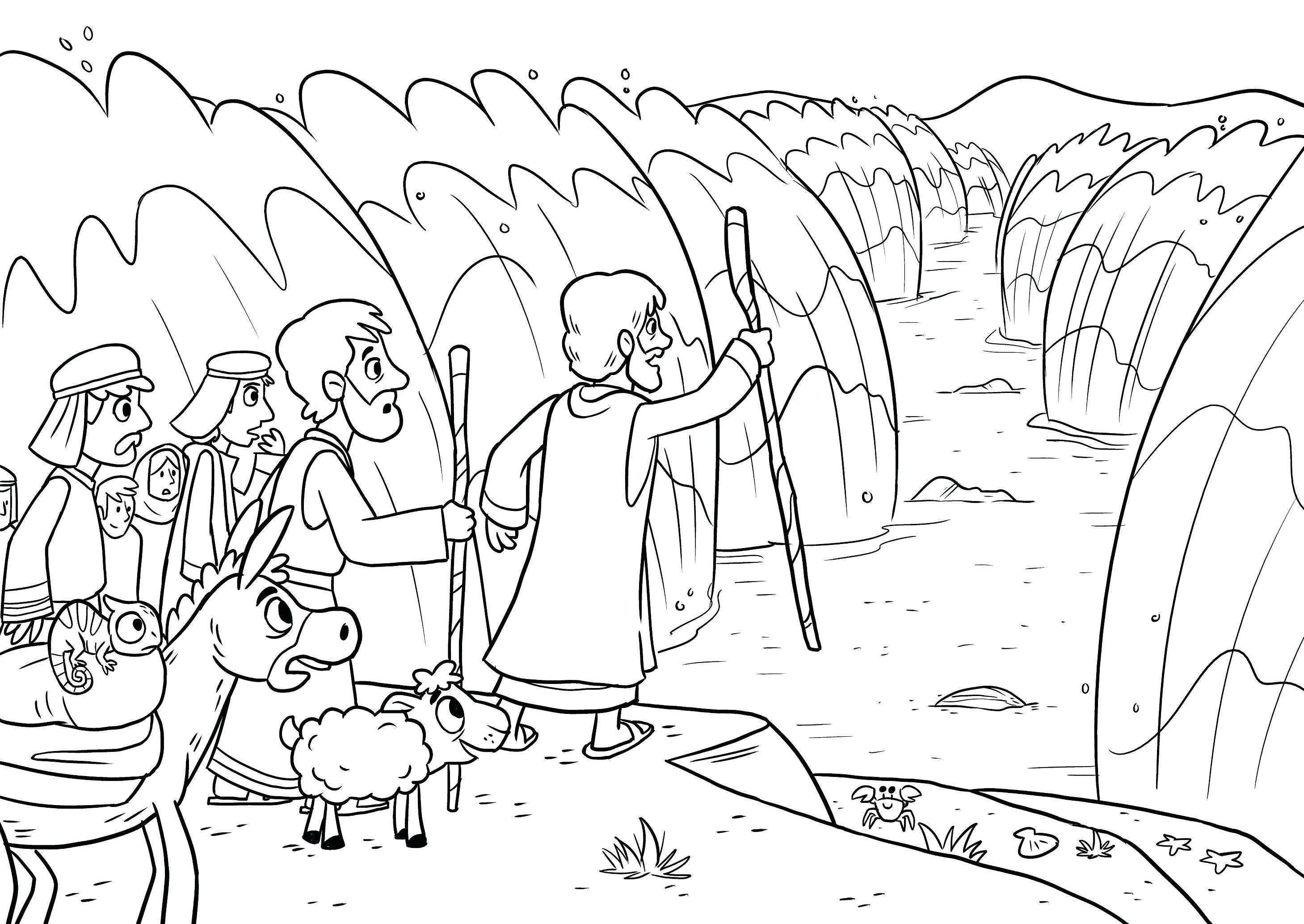 2918x2067 Coloring Pages Online For Adults Is Baptized Bible App Kids Story