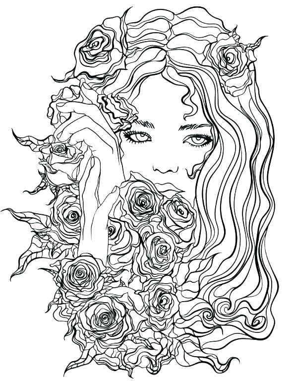 593x768 Recolor Colouring Pages Interesting Coloring Pages App Pretty Girl