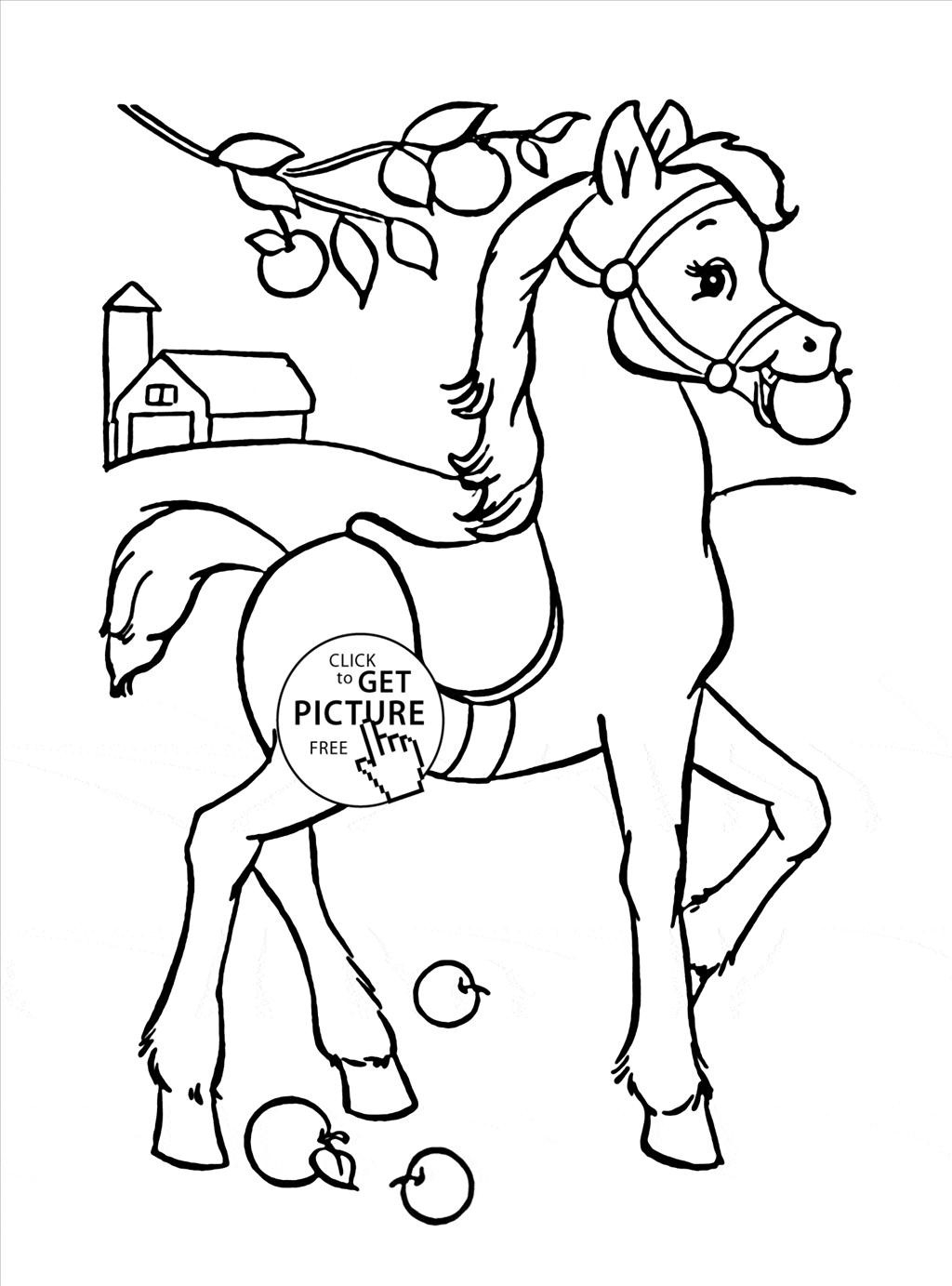 1024x1383 Fresh Coloring Pages Horses With Appaloosa Horse Coloring Page