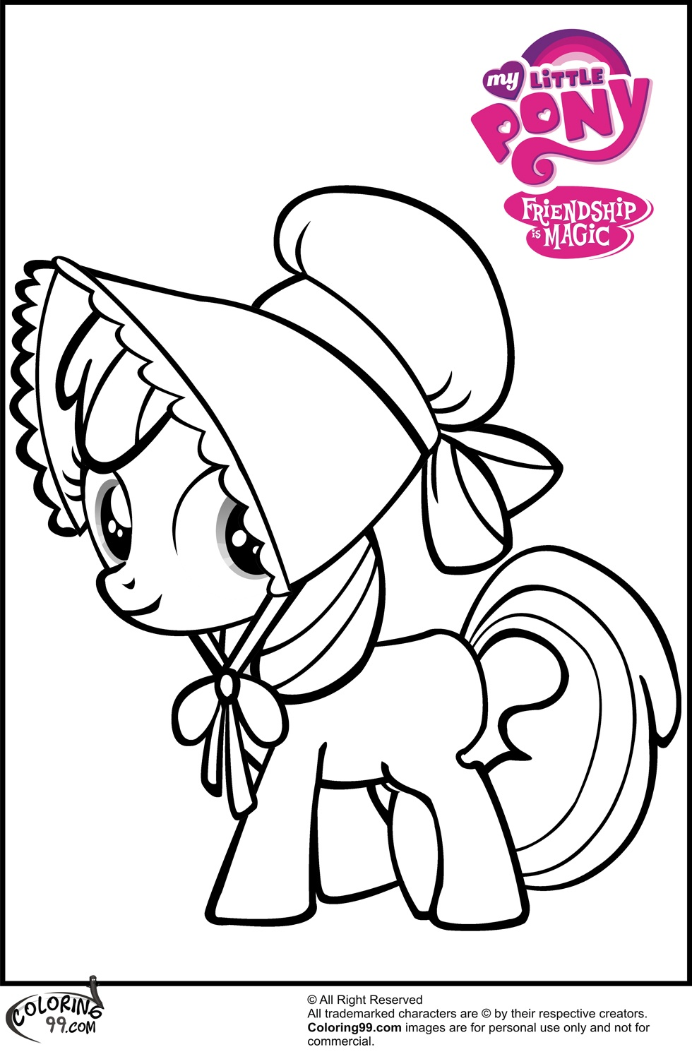 980x1500 Beautiful Mlp Apple Bloom Coloring Pages Free Coloring Pages