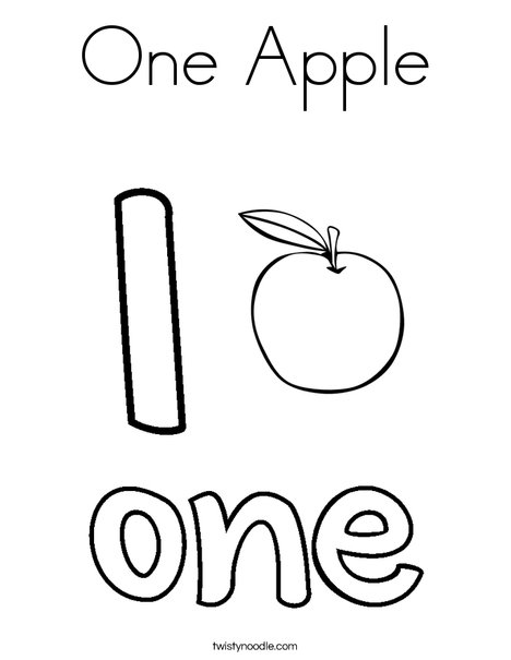 468x605 Apple Coloring Picture Cut Fruits Coloring Pages Simple For Kids