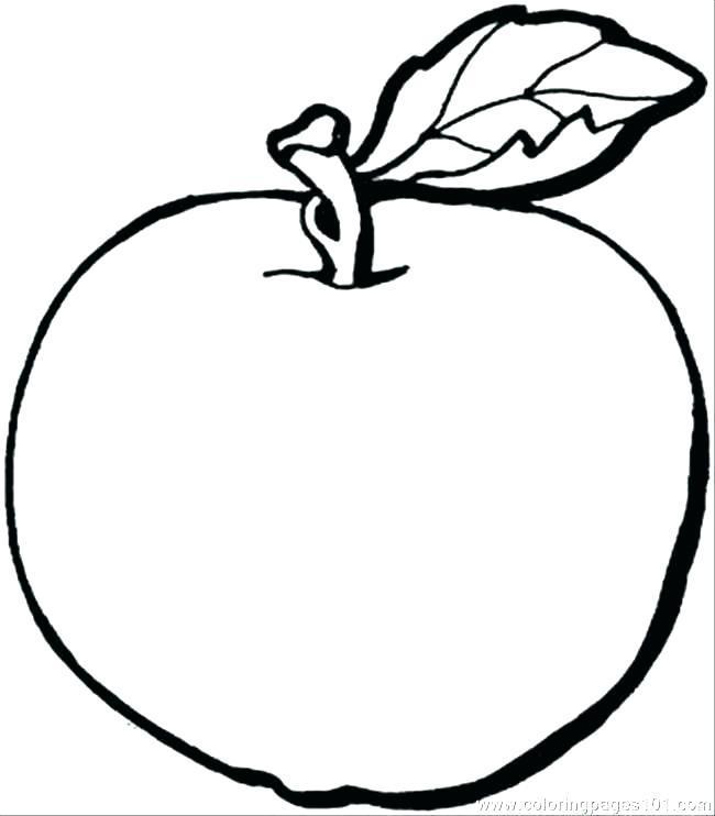 650x742 Apple Tree Coloring Page Apple Coloring Page Apple Color Pages S