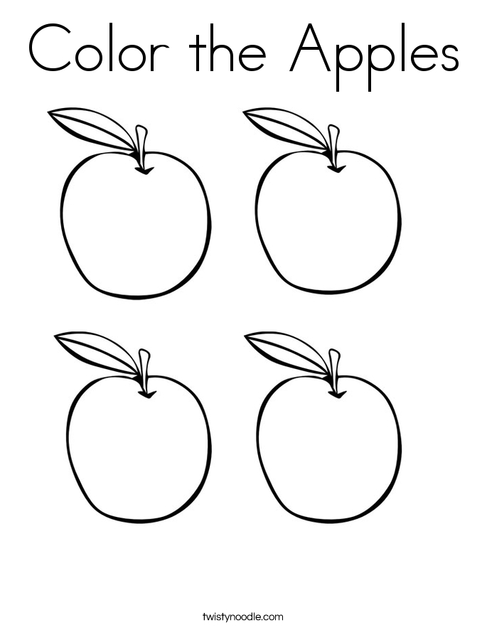 685x886 Apples Coloring Page Apple Coloring Sheets Small Apples Coloring